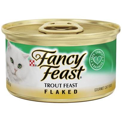 Fancy Feast Canned Flaked Trout for Cats