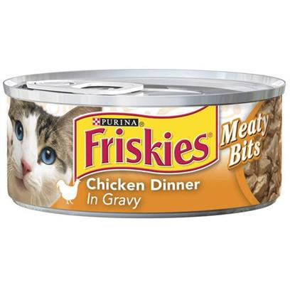Friskies Canned Classic Pate Sliced Chicken for Cats