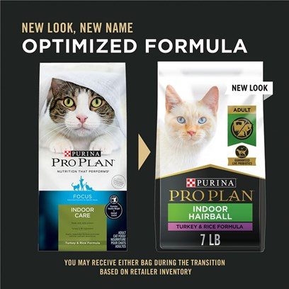 Purina Pro Plan Extra Care Food for Indoor Cats