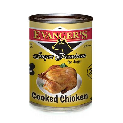 Evanger's Cooked Chicken Dog 12/22Oz Cans