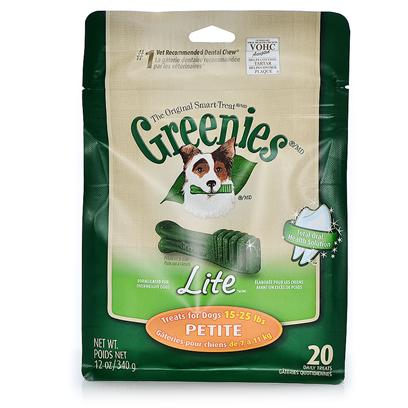 Greenies Weight Management Dental Treats for Petite Dogs 20 Count