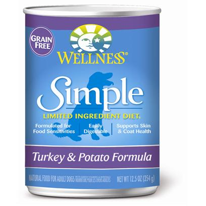 Wellness Simple Turkey & Potato Formula Canned Dog Food