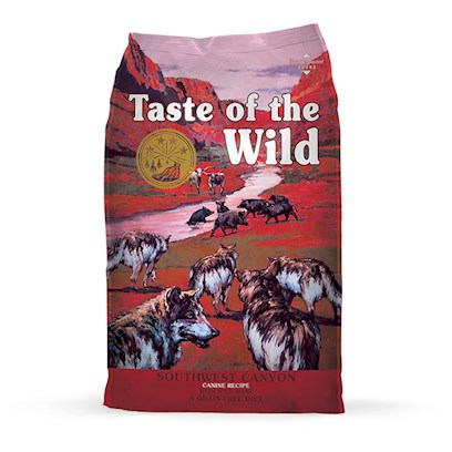 Taste Of The Wild Southwest Canyon Canine Formula Wild Boar 14 Lbs