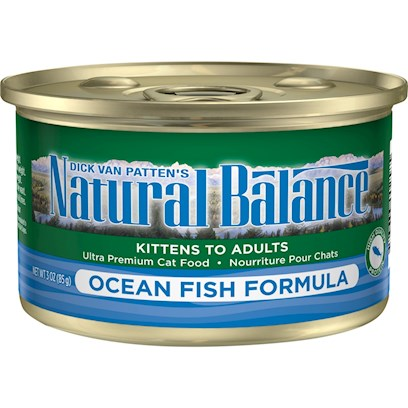 Natural Balance Ocean Fish Canned Cat Recipe
