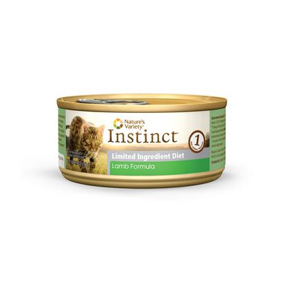 Nature's Variety Instinct Lid Lamb Canned Formula Cat Food