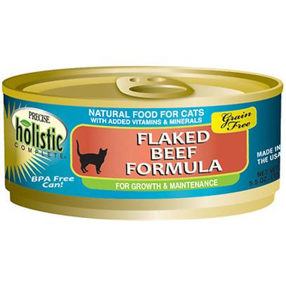 Precise Holistic Complete Grain Free Beef Canned Cat