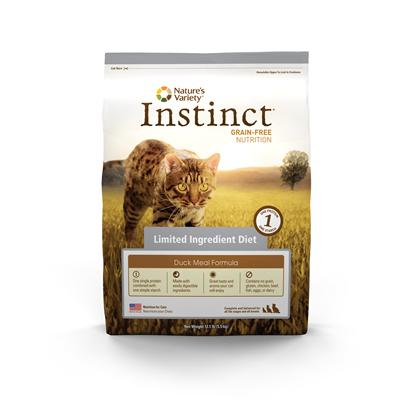 Nature's Variety Instinct Duck Meal & Turkey Meal Dry Cat Formula