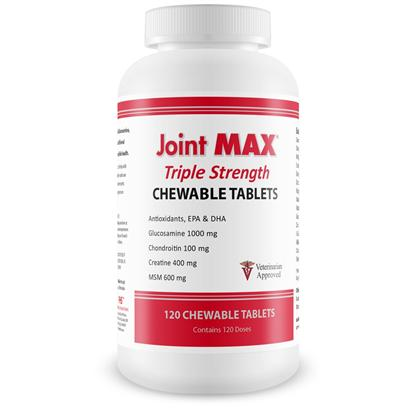 Joint MAX Triple Strength 120 Chewable Tablets