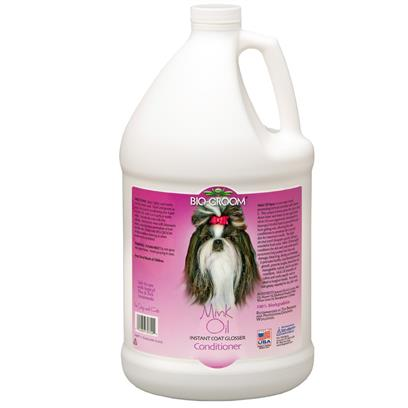 Bio-Groom Mink Oil Spray Conditioner 1 Gallon