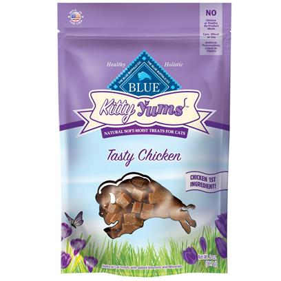 Blue Buffalo Kitty Yums Tasty Chicken Cat Treats