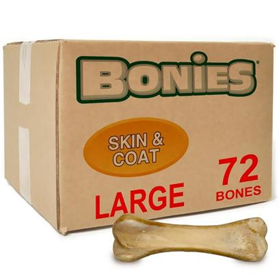 BONIES Skin & Coat Health BULK BOX LARGE 72 Bones