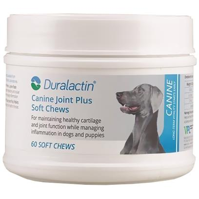 Duralactin Canine Joint Plus Soft Chews 60 count