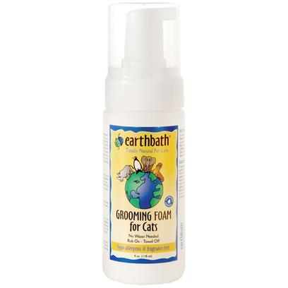 Earthbath Hypo-Allergenic Grooming Foam for Cats 4 oz