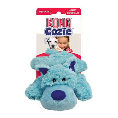 KONG Cozie Baily the Blue Dog