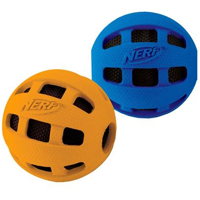 Nerf Dog Crunchable Checker Ball