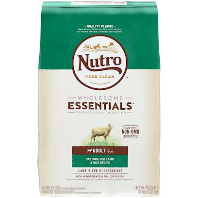 Nutro Natural Choice Limited Ingredient Diet Lamb & Whole Brown Rice