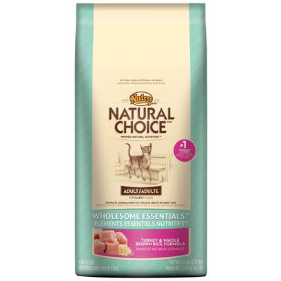 Nutro Natural Choice Wholesome Essentials Turkey & Whole Brown Rice