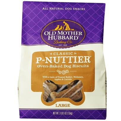 Old Mother Hubbard P-Nuttier Biscuits