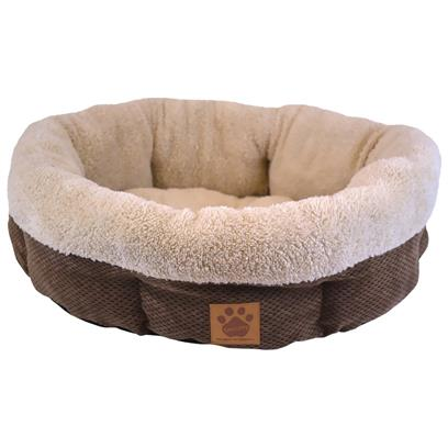 Shearling Round-Coffee Liqueur Chenille