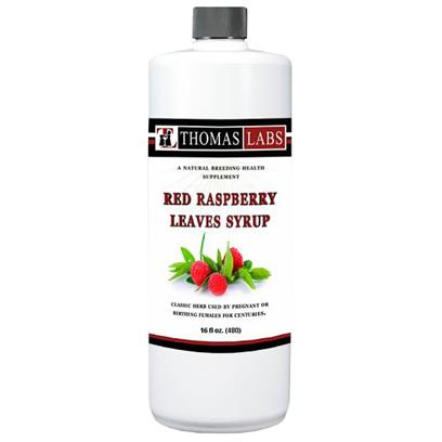 Thomas Labs Red Raspberry Leaves Syrup 16 oz