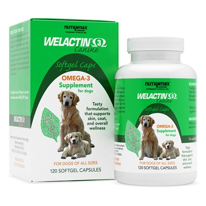 Welactin For Dogs Softgel 120 Caps