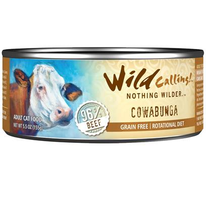 Wild Calling Cowabunga Canned Cat Food