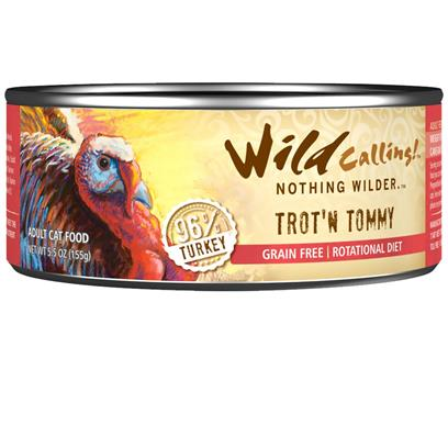 Wild Calling Turkey Trout'n Tommy Canned Cat Food
