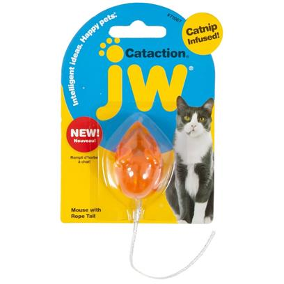 JW Pet Cataction Mouse with Bell & Tail JW Pet Cataction Mouse with Bell & Tail
