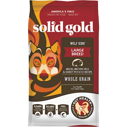 Solid Gold Wolf King with Bison Dry Dog Food 24-lb