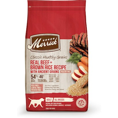 Merrick Classic Real Beef and Green Peas with Ancient Grains Dry Dog Food
