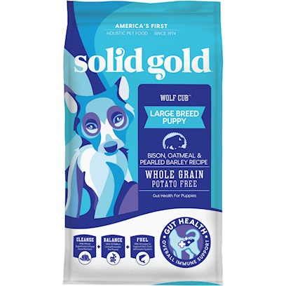 Solid Gold Wolf Cub (Bison) Dry Puppy Food 24-lb
