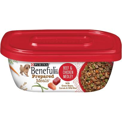 Beneful Prepared Meals Beef and Chicken Medley Wet Dog Food