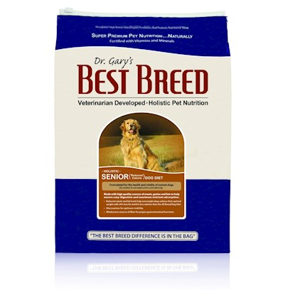 Dr. Gary's Best Breed Holistic Senior Reduced Calorie Dry Dog Food